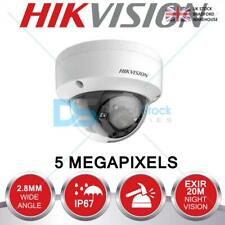 HIKVISION 5MP CCTV CAMERA ANTI VANDAL DOME 2.8MM 20M EXIR NIGHT VISION