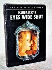 Eyes Wide Shut (Dvd, 2007 2-Disc) Tom Cruise Nicole Kidman Stanley Kubrick drama