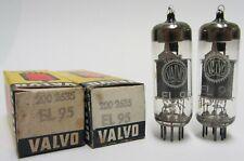 EL95  Valvo / Siemens  Matched pair  Röhren  NEU und OVP Lagerbestand Test 100%