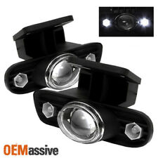 Fits 99-02 Sierra Pickup 00-06 GMC Yukon Projector Fog Lights W/LED Lights Lamps