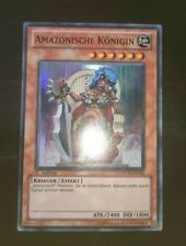 Yugioh Amazonische Königin DREV-DE032 1.Auflage Super Rare