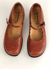 Footprints By Birkenstock Women's Leather Shoes Mary Jane Brown Sz 9.5 US-(41)