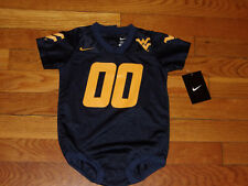 NWT NIKE WEST VIRGINIA MOUNTAINEERS ONE-PIECE BOYS 18 MONTHS