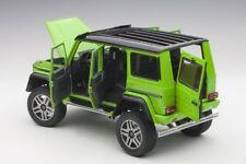 Autoart  MERCEDES BENZ G500 4X4² 2016 ALIEN GREEN 1/18 Scale New! In Stock!