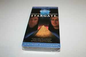 Stargate (NEW SEALED VHS 1994, Letterboxed Edition) Kurt Russell, James Spader