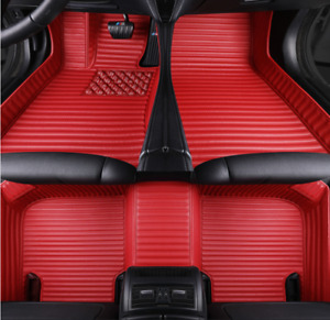 Custom car floor mats for Audi Q3 Q5 Q7 A3 A5 A7 A4 A6 A8 S5 S7 S8 TT RS4/5/6/7