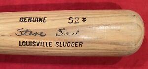 Vintage 1985 Steve Sax Los Angeles Dodgers Game Used LS Baseball Bat Old Early