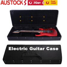 Electric Guitar Hard Case Plush Liined High Density Foam Inner Nylon Outer AU