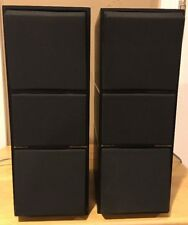 BANG & OLUFSEN BEOVOX C 75 SPEAKERS  ** NEED TO BE REFOAM **