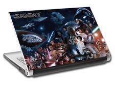 Personajes De Star Wars Personalizado Portátil Piel Calcomanía Vinilo Sticker cualquier nombre L655
