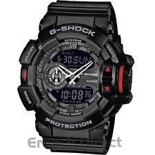 Casio G-Shock Mens Multi-Functional Big Case Analogue Watch GA-400-1BER Black