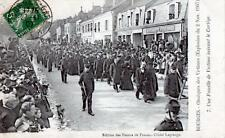 CPA 18 BOURGES - Obsèques des Victimes (explosion du 2 Nov.1907) UNE FAMILLE DE