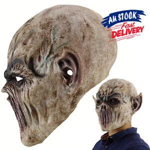 Scary Full Face Mask Costume Horror Mask Halloween Party Horror Zombie Skeleton