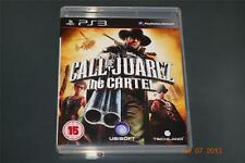 Call of Juarez The Cartel PS3 Playstation 3 **FREE UK POSTAGE**