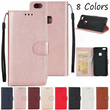 Stand Wallet Book Flip Leather Cover Case For Huawei P8 P9 P10 Lite/Mate 10 Pro