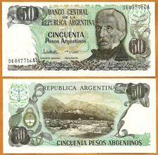 Argentina, 1983-1985,  UNC, 50 Pesos Argentinos, P- 314a(2)