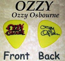 OZZY OSBOURNE OZZY signature guitar pick -novelty  - (w-2288)