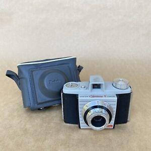 Kodak Bantam Colorsnap II 828 Film Camera W/ Anaston Lens & Case, NICE!