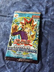 Yugioh LOB 1st edition Booster Pack Legend of Blue Eyes White Dragon English ccg