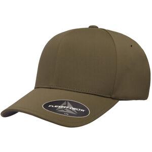 Flexfit Delta Seamless Cap 180 Baseball Hat S/M L/XL Antibacterial 13 Colors