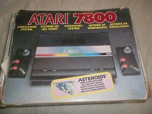 ATARI 7800 CONSOLE EMPTY BOX