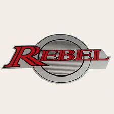 "NEW 5.85"" x 3"" GAS TANK BADGE STICKER FOR REBEL CA250 CM250"