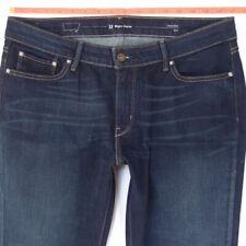 Ladies Womens Levis SLIGHT CURVE SLIM Stretch Blue Jeans W33 L32 UK Size 14