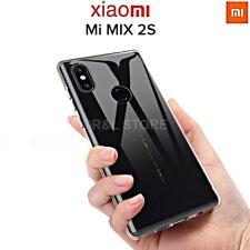 COVER per XIAOMI Mi MIX 2S CUSTODIA in TPU HD Ultra Slim Morbida TRASPARENTE