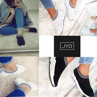 justyouroutfit womens skylar fy-27 runner sock trainer
