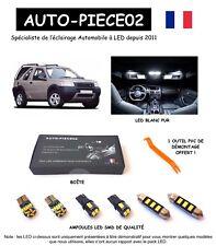 Pack FULL LED intérieur pour Land Rover Freelander 1 ( Kit ampoules blanc pur )