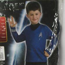Rubies Star Trek Spock Costume Licensed Age 5-7 - Shirt + Trousers - New In Pack