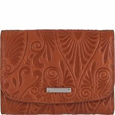 Women's Lodis Denia Mallory French Purse Wallet Toffee