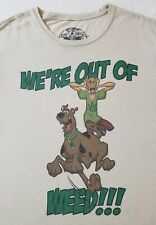 Kill Your Culture x Scooby & Shaggy Weed T-Shirt Sz XXL Marijuana Dope Pot Funny