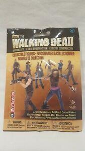 2014 MCFARLANE AMC THE WALKING DEAD BUILDING SETS ( WALKERS ) SERIES 1 RARE NEW