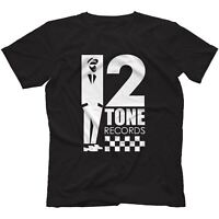 2 Tone Records T-Shirt 100% Cotton Reggae Ska Trojan Rocksteady The Specials