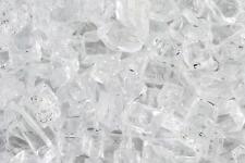"50 LBS 1/4"" CRYSTAL ICE, STARFIRE FIREGLASS, Gas Fireplace Fire Pit Glass Rocks"