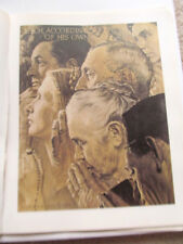 Norman Rockwell Freedom to Worship Poster 16x11 Unsigned Reprint