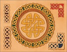 Celtic Circles & Border Craftaid Tandy Leather 76610-00