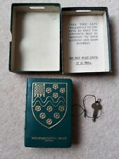 Rare Vintage Original Westminster Bank Money Box Tin with Key and box