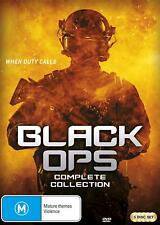 BLACK OPS Season 1 + 2 (Region 4) DVD The Complete Series Collection