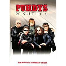 Puhdys - 20 Kult-Hits (Songbuch, Songbook, Notenbuch) für Gesang, Klavier, Gitar