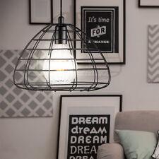 VINTAGE pendule pendentif lampe sommeil invités chambre plafond cage lampe noire