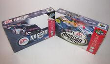 NASCAR 99 & 2000 (Nintendo 64 1998) Complete CIB N64 Games Excellent w/ Reg Card