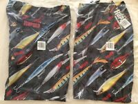 Rapala 3 Hooks Boardshorts  36  Lures Mens New Fishing Magnum  Xrap