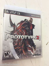 Prototype 2 (Playstation 3, 2012) Complete! Tested! Works!