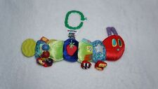 Eric Carle The Very Hungry Caterpillar Plush Toy Sensory Rattle Teether Taggie