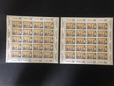 Middle East Aden Quaiti South Arabia perf imperf stamp set full sheets SPACE
