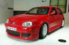 LGB 1:24 Echelle VW Golf GTI Mark 4 IV R32 V6 31290 Rouge Maisto détaillé Modèle