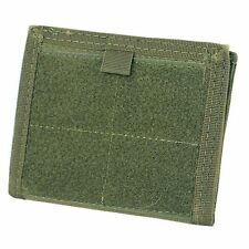 Condor Tactical MOLLE Admin ID Holder Panel Zipper Pocket Pouch Wallet OD Green