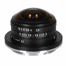 LAOWA 4mm f/2,8 Circular Fisheye für Sony E mit extremen 210 Grad Bildwinkel